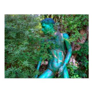Ellis Garden VI Postcard