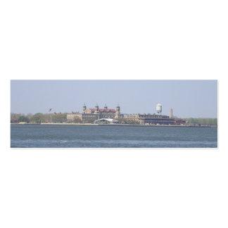 Ellis Island-NYC Bookmark Pack Of Skinny Business Cards