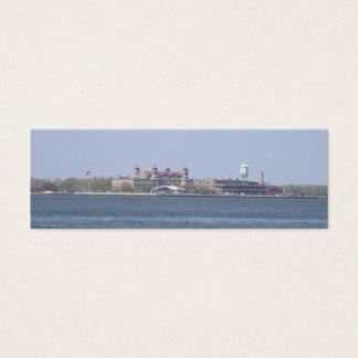 Ellis Island-NYC Bookmark Mini Business Card
