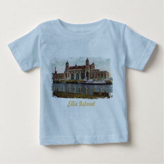 Ellis Island Painted Baby Shirt