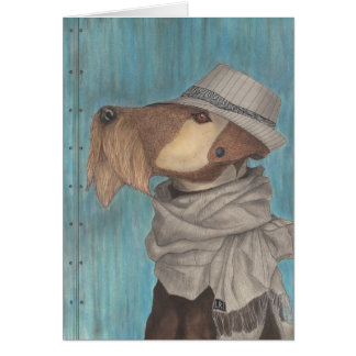 Ellsworth, the Airedale Card
