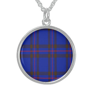 Ellwood Scottish Tartan Sterling Silver Necklace