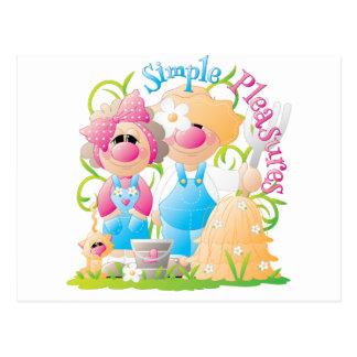 Elmer & Louise 1 Postcard