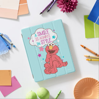 Elmo   A Smile is Always in Style iPad Cover