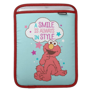 Elmo | A Smile is Always in Style iPad Sleeve