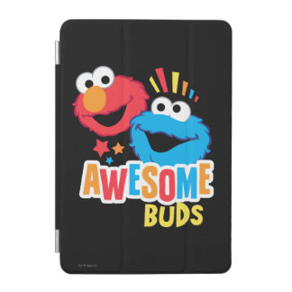 Elmo and Cookie Awesome Buds iPad Mini Cover
