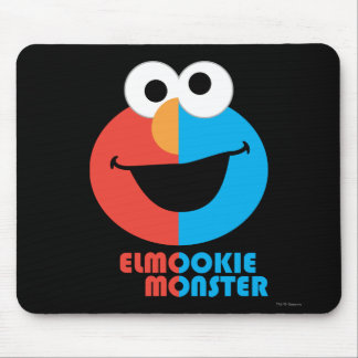Elmo and Cookie Half Face Mouse Pad