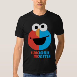 Elmo and Cookie Half Face Tee Shirts