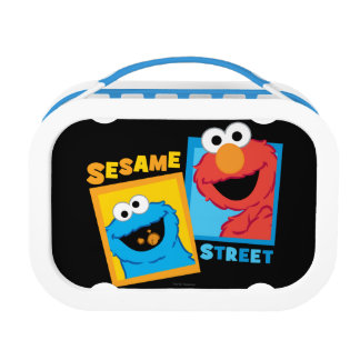 Elmo and Cookie Monster Friends Lunch Boxes