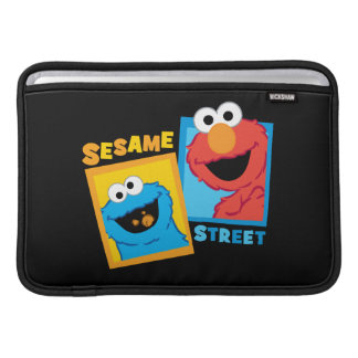 Elmo and Cookie Monster Friends MacBook Sleeve