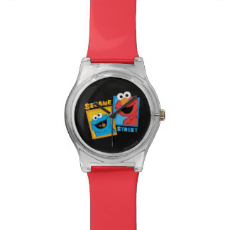 Elmo and Cookie Monster Friends Wristwatch