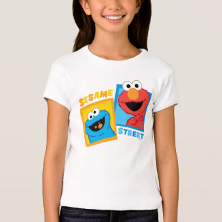 Elmo and Cookie Monster Friends Shirts