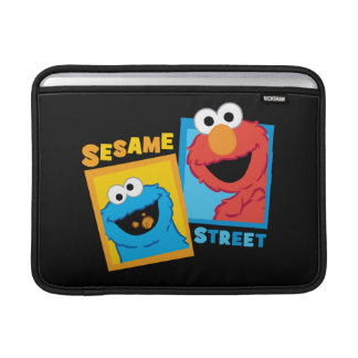 Elmo and Cookie Monster Friends Sleeves For MacBook Air