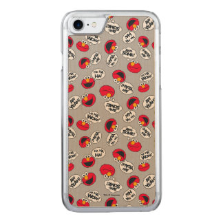 Elmo | Aw Yeah, Awesome Pattern Carved iPhone 8/7 Case