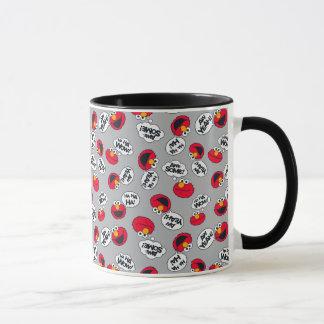 Elmo   Aw Yeah, Awesome Pattern Mug