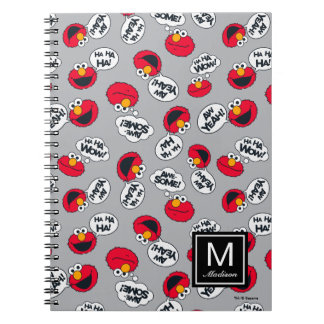 Elmo   Aw Yeah, Awesome Pattern Notebook