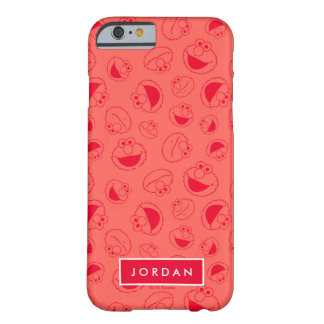 Elmo | Awesome Red Pattern Barely There iPhone 6 Case