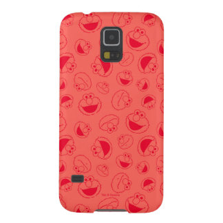 Elmo | Awesome Red Pattern Galaxy S5 Cases