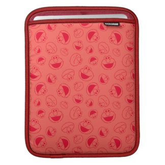 Elmo | Awesome Red Pattern iPad Sleeve