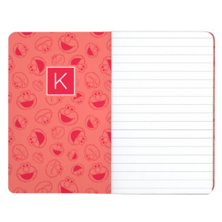 Elmo | Awesome Red Pattern | Monogram Journal