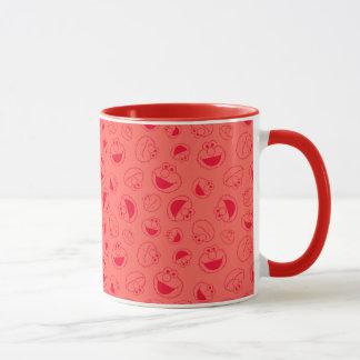 Elmo | Awesome Red Pattern Mug