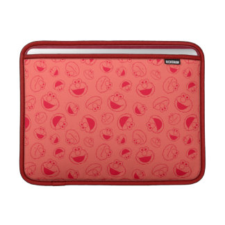 Elmo | Awesome Red Pattern Sleeve For MacBook Air