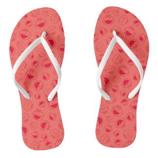 Elmo | Awesome Red Pattern Thongs