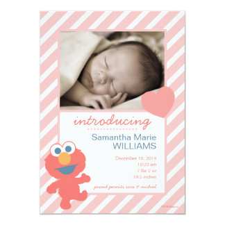 Elmo Birth Announcement