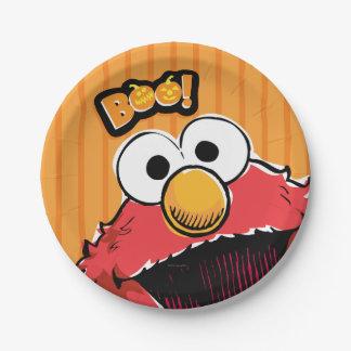 Elmo - Boo! Paper Plate