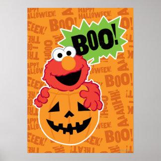 Elmo - Boo Poster
