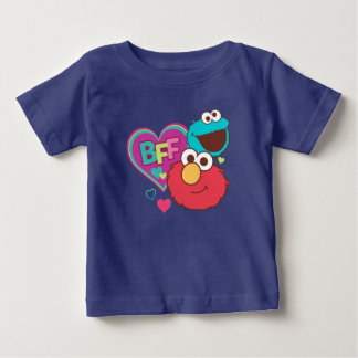 Elmo & Cookie Monster - BFF Baby T-Shirt