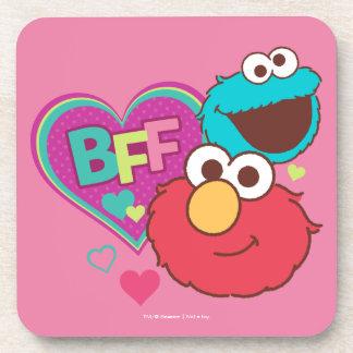 Elmo & Cookie Monster - BFF Coaster