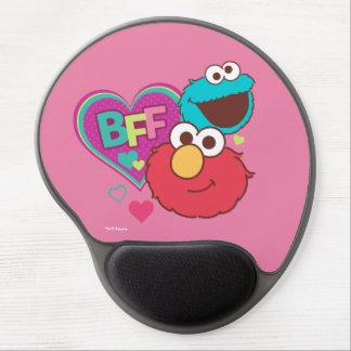 Elmo & Cookie Monster - BFF Gel Mouse Pad