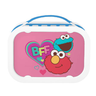 Elmo & Cookie Monster - BFF Lunch Boxes