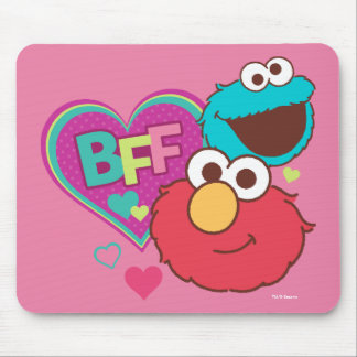 Elmo & Cookie Monster - BFF Mouse Pad
