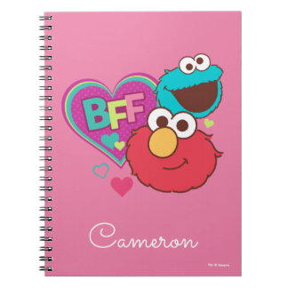 Elmo & Cookie Monster - BFF Notebook