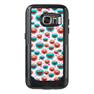 Elmo & Cookie Monster | Peace & Love Pattern OtterBox Samsung Galaxy S7 Case