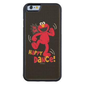 Elmo | Do the Happy Dance Carved Maple iPhone 6 Bumper Case