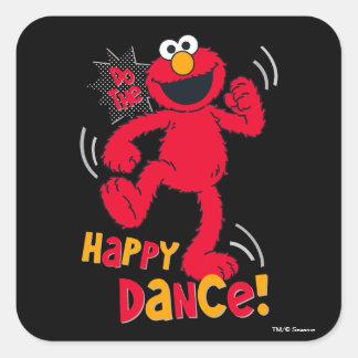 Elmo | Do the Happy Dance Square Sticker