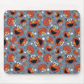 Elmo | Elmo Rules Star Pattern Mouse Pad