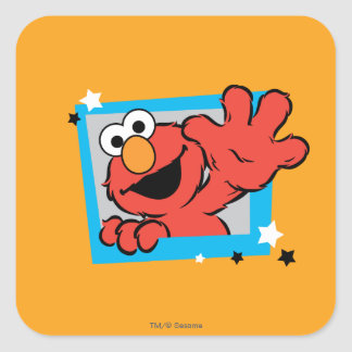 Elmo Extreme Pose 2 Square Sticker