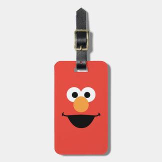 Elmo Face Art Luggage Tag