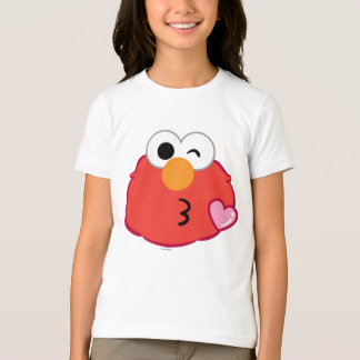 Elmo Face Throwing a Kiss T-Shirt