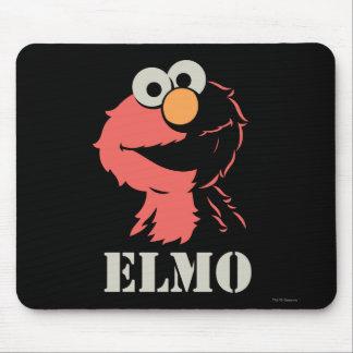 Elmo Half Mouse Pad