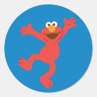 Elmo Happy Dancing Classic Round Sticker