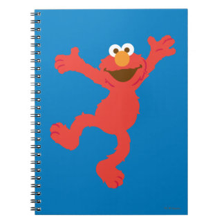 Elmo Happy Dancing Notebook