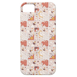 Elmo   Happy Little Monster Comic Pattern Barely There iPhone 5 Case
