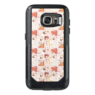 Elmo | Happy Little Monster Comic Pattern OtterBox Samsung Galaxy S7 Case