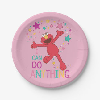 Elmo | I Can Do Anything Paper Plate