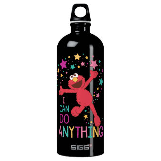 Elmo   I Can Do Anything Water Bottle
